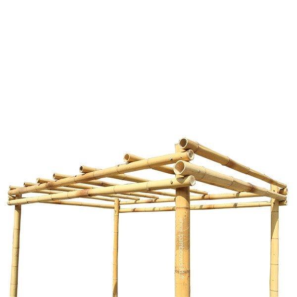 Pergola en bambou (2)