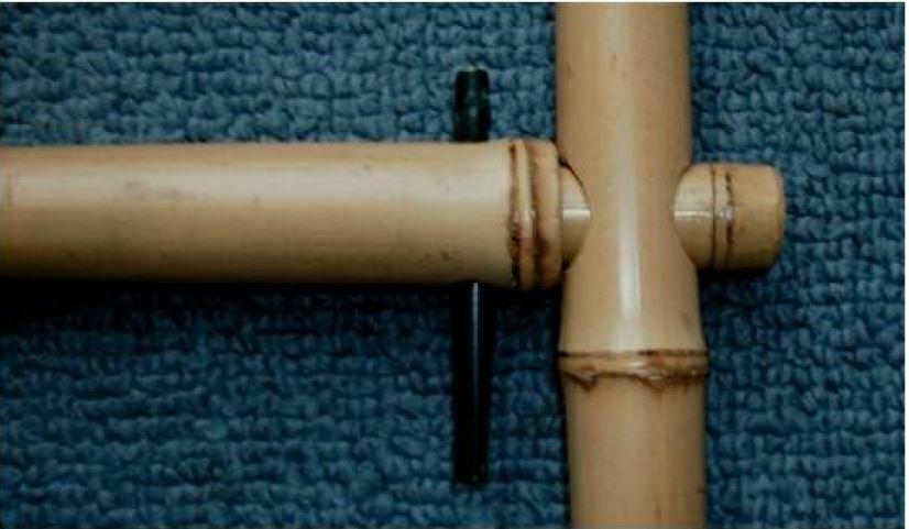 Joint clé avec tige fixe