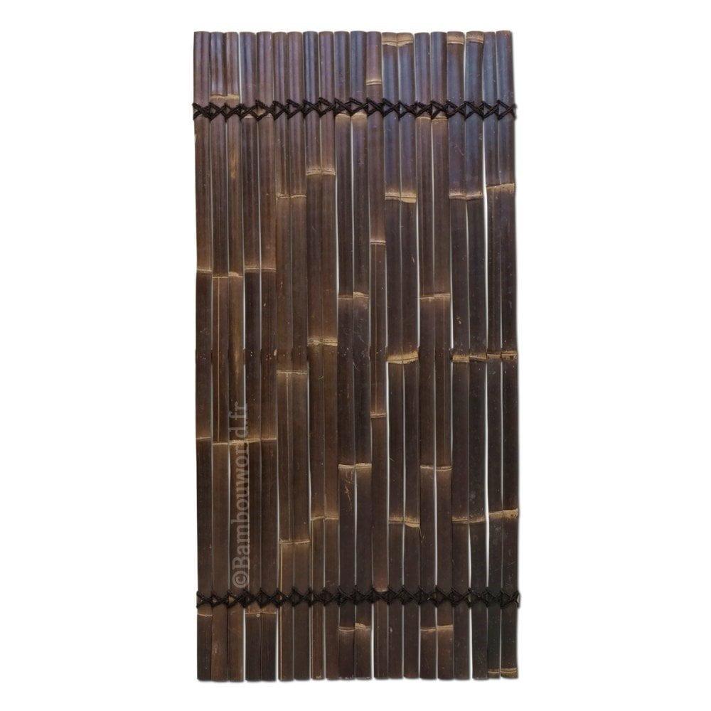 Panneau en lattes de bambou 90 x 180 cm