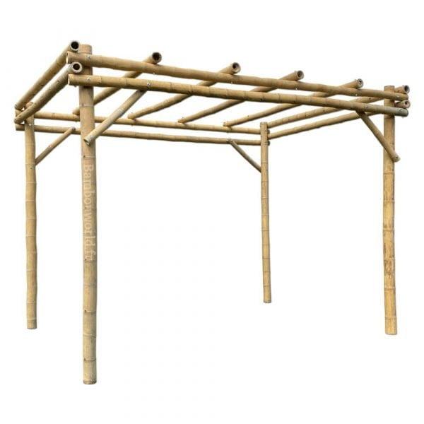Pergola bambou GUA 3 x 3 m