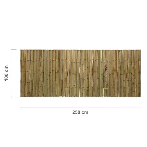 palissade- bambou-plein-250-100-cm