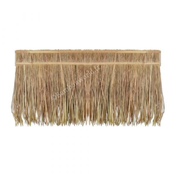 paille sur bâton en bambou pour toiture