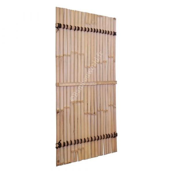 panneau en lamelles de bambou