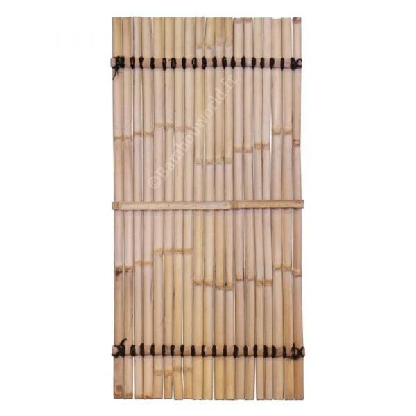 panneau en bambou lattes